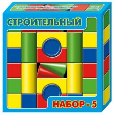 Конструктор Десятое королевство Строительный набор-5 30 элементов набор десятое королевство запасливый ёжик 01998