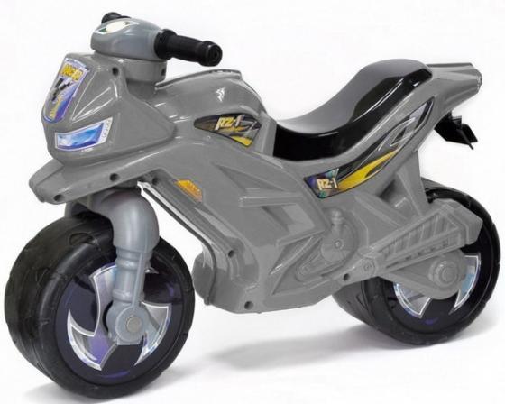 Каталка-мотоцикл Orion Toys ОР501Сер пластик от 2 лет на колесах серый каталка машинка r toys bentley пластик от 1 года музыкальная красный 326