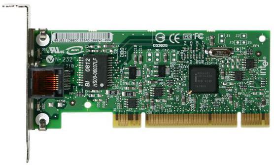 Сетевой адаптер PCI 1GB BLK20 LP PWLA8391GTLBLK 865088 INTEL сетевой адаптер питания lp с usb выходом