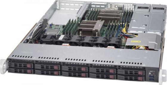 Серверная платформа 1U SATA SYS-1028R-WTNRT SUPERMICRO цена