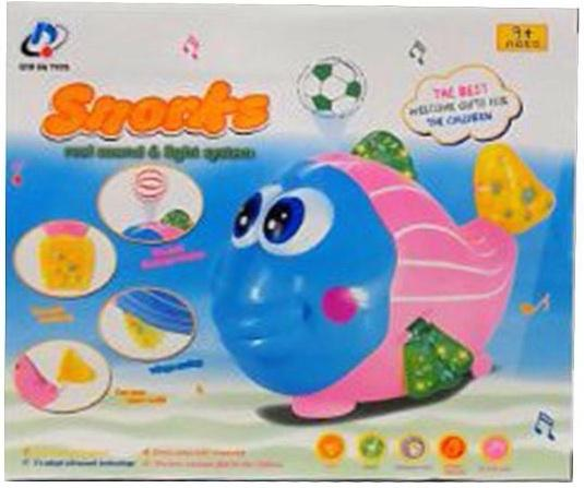 цена на Интерактивная игрушка Наша Игрушка Рыбка от 3 лет