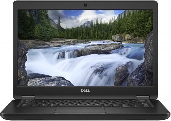Ноутбук DELL Latitude 5490 14 1920x1080 Intel Core i7-8650U 256 Gb 8Gb Intel UHD Graphics 620 черный Linux 5490-2851