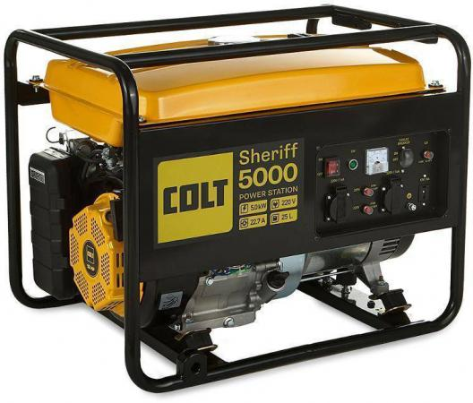 Генератор COLT Sheriff 5000 (499301) бензиновая генератор тсс tss sgg 5000 e 014970