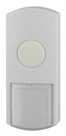 Звонок ЭРА D1 кнопка проводная белая
