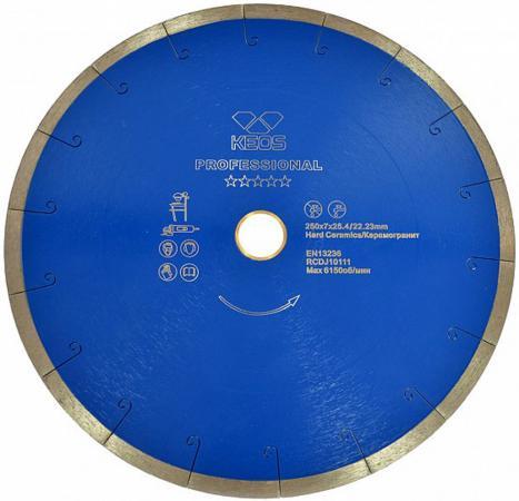 Круг алмазный KEOS DBP01.125 сплошной Professional 125х22.2мм по керамограниту круг алмазный keos dbs02 450