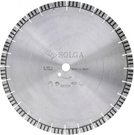 Круг алмазный SOLGA DIAMANT 23116400 professional-10 сегментный железобетон 400х25.4х20мм спот natali kovaltseva dresden dresden 81057 2w matt white