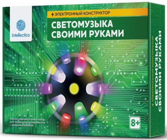 Конструктор INTELLECTICO Светомузыка конструктор intellectico акустический моргалик 1003