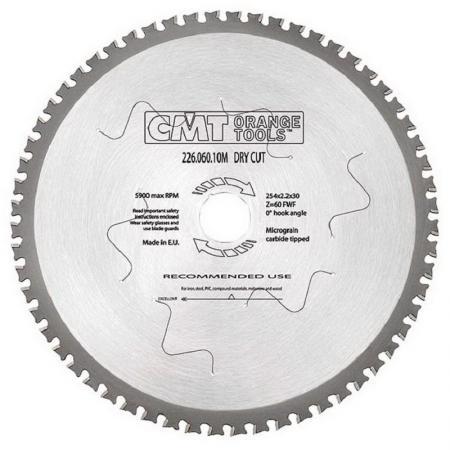 Круг пильный твердосплавный CMT 226.080.12 305X25.4X2.2/1.8 0° 8° FWF Z=80 цена