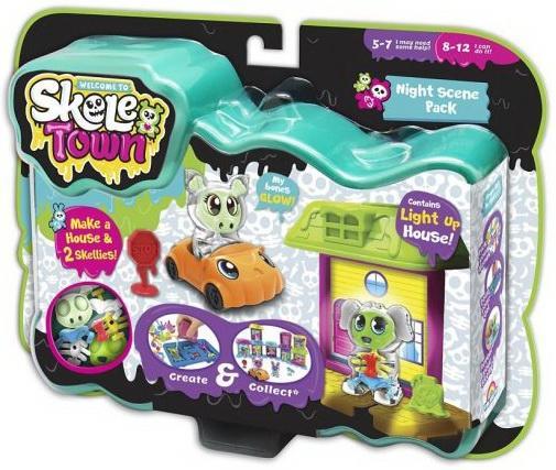 """Набор игрушек Skeletown """"Скелетаун. Ночной город"""" недорого"""