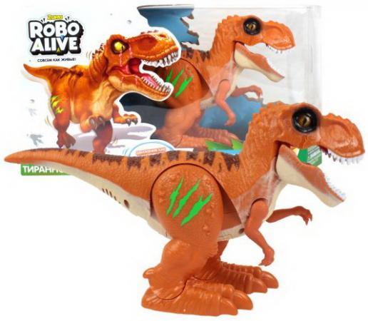 Тираннозавр ZURU INC. Т13694 оранжевый от 3 лет пластик zuru