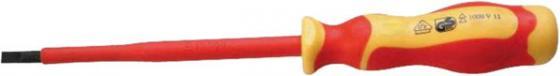 Отвертка WEDO WD511-04 плоская VDE 1000В 3*100 мм отвертка плоская 6 5х125 мм witte профи