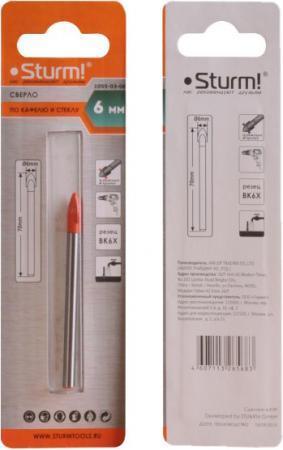 Сверло STURM! 1055-03-06 по стеклу и кафелю 6мм