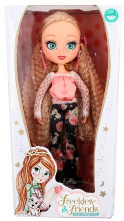 Кукла Freckles&Friends Квин 27 см [sa]mersen smartspot fuse amp trap fuses ajt4 4a 600v 27 51mm