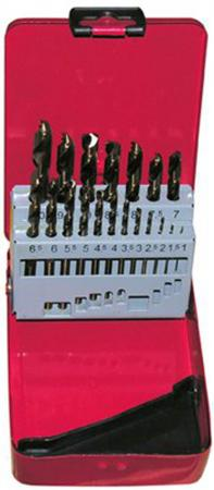 Набор сверл ЭНКОР 25213 по металлу 13шт. в мет футл Р6М5 набор ключей энкор 20887