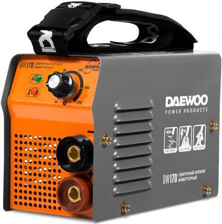 Аппарат сварочный инверторный DAEWOO DW 170 170А 6500Вт Ф1,6-4мм сварочный аппарат daewoo dw 160 mma