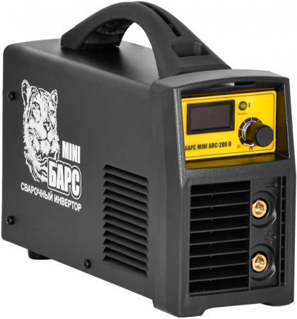 цена Сварочный аппарат БАРС Mini ARC-200 D 6.3кВт 220 расшир. диапазон MMA