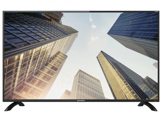 Телевизор LED 40 Soundmax SM- 40M04 черный 1920x1080 60 Гц USB VGA SCART Антенный вход RF Разьем для наушников