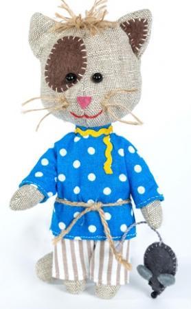 Купить Набор для создания игрушки Перловка Домовитый кот Василий, Наборы для шитья и вышивания