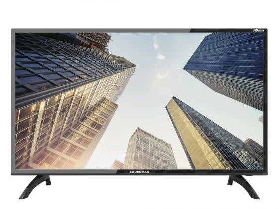 Телевизор LED 39 Soundmax SM-LED 39M06 черный 1366x768 60 Гц USB VGA Разьем для наушников led телевизор soundmax sm led32m01
