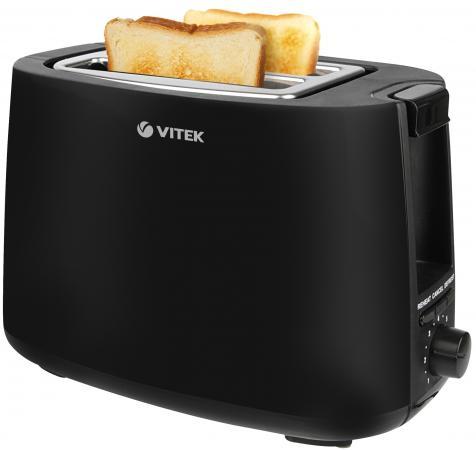 Тостер Vitek VT-7157 BK чёрный цена и фото