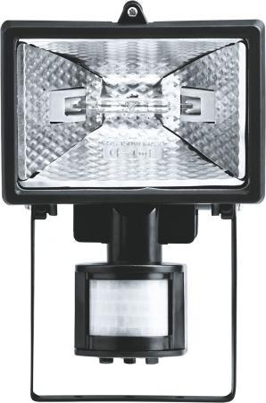Прожектор Navigator 94 609 NFL-SH1-150-R7s/BL (ИО 150вт черный с датчиком движения) 4607136946095 прожектор navigator 500вт nfl ph2 500 r7s bly галогеновый черный переносной