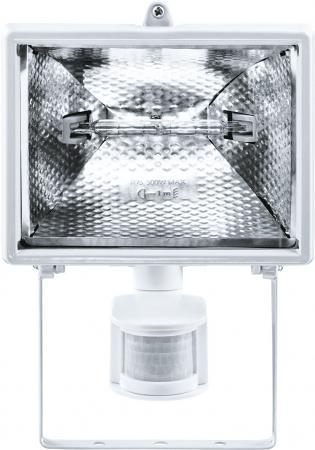 Прожектор Navigator 94 610 NFL-SH1-500-R7s/WH (ИО 500вт белый с датчиком движения) 4607136946101 прожектор navigator 500вт nfl ph2 500 r7s bly галогеновый черный переносной
