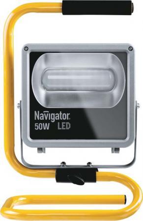 Прожектор светодиодный Navigator 71 322 NFL-M-50-4K-BL-PRL-LED 70лм/Вт IP65 настольная лампа navigator 61 323 ndf d012 8w 5k bl led black