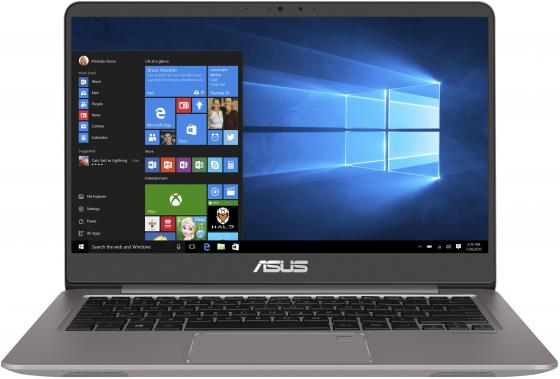 Ноутбук ASUS Zenbook UX410UA-GV601T 14 1920x1080 Intel Core i5-8250U 256 Gb 12Gb Intel UHD Graphics 620 серый Windows 10 Home 90NB0DL3-M12850 ноутбук asus zenbook ux330ua fc297t 13 3 1920x1080 intel core i5 8250u 512 gb 8gb intel hd graphics 620 черный windows 10 home 90nb0cw1 m07980