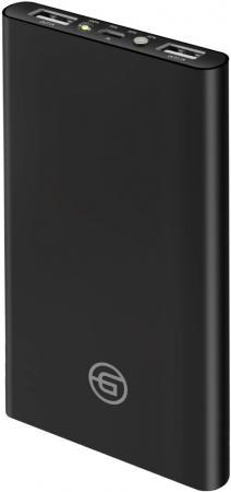 Внешний аккумулятор Power Bank 10000 мАч GINZZU GB-3910B черный