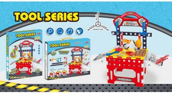 Купить Верстак Наша Игрушка Настоящего мастера, для мальчика, Игровые наборы Юный мастер