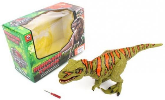 Динозавр Наша Игрушка разноцветный от 3 лет пластик, металл динозавр наша игрушка 333 39b пластик от 3 лет разноцветный