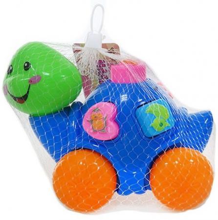 Каталка-сортер Наша Игрушка Черепашка пластик от 3 лет с ручкой разноцветный полесье каталка с ручкой черепашка тортила