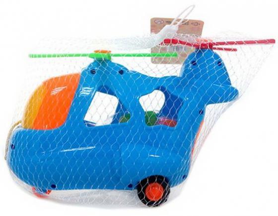 Каталка-сортер Наша Игрушка Вертолетик пластик от 3 лет с ручкой разноцветный каталка наша игрушка самолетик y360963