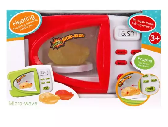 Микроволновая печь Наша Игрушка микроволновая печь со светом микроволновая печь shivaki smw2005mw