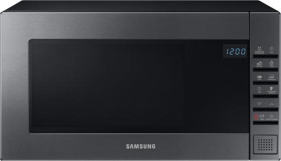 Микроволновая печь Samsung ME88SUG 800 Вт серебристый чёрный микроволновая печь midea mm820cj7 b3 800 вт чёрный