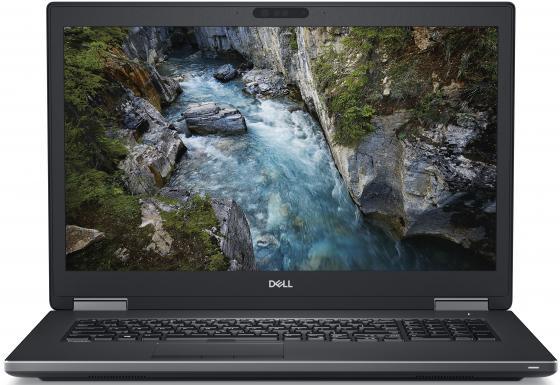 "Ноутбук DELL Precision 7730 17.3"" 1920x1080 Intel Core i7-8850H 256 Gb 16Gb Bluetooth 5.0 nVidia Quadro P3200 6144 Мб черный Windows 10 Professional 7730-6986"