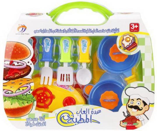 Набор посуды Наша Игрушка пластик в ассортименте набор посуды наша игрушка для чаепития пластик