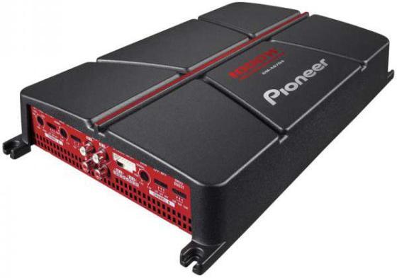 Усилитель автомобильный Pioneer GM-A6704 четырехканальный усилитель автомобильный pioneer gm a6704 четырехканальный