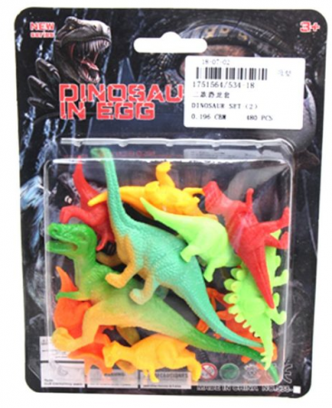 Набор фигурок Наша Игрушка Игр.набор Динозавры 14 см набор фигурок наша игрушка морские черепашки 10 см px01 7
