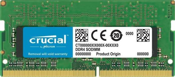 Память DDR4 16Gb 2400MHz Crucial CT16G4S24AM RTL PC4-19200 CL17 SO-DIMM 260-pin 1.2В Mac dual rank цена