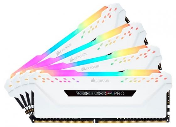 Память DDR4 4x8Gb 3600MHz Corsair CMW32GX4M4C3600C18W RTL PC4-28800 CL18 DIMM 288-pin 1.35В kit каталог интерскол