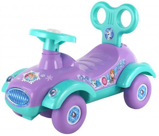 Каталка-машинка Полесье Disney Холодное сердце пластик от 1 года на колесах фиолетовый