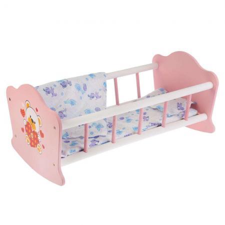 Кроватка для кукол КАРАПУЗ Кроватка для кукол Мой мишка printio мой любимый карапуз 2