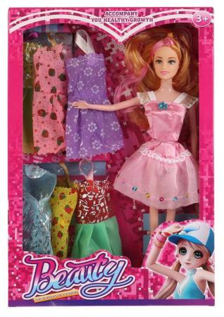 Кукла Shantou Кукла с набором одежды 9322A 29 см кукла yako m6579 6