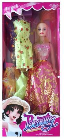 Кукла Shantou Кукла 29см с набором одежды, цвет в ассорт. 9314A-3 29 см кукла yako m6579 6