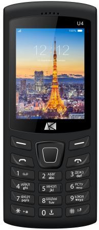 Мобильный телефон ARK U4 Benefit 32Mb черный моноблок 2Sim 2.4 240x320 0.08Mpix BT GSM900/1800 MP3 FM microSD max64Gb телефон мобильный ark benefit u281