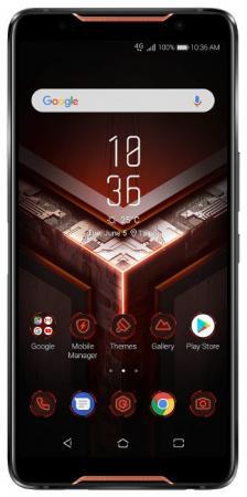 Смартфон ASUS ROG Phone ZS600KL черный 6 128 Гб NFC LTE Wi-Fi GPS 3G Bluetooth 90AZ01Q1-M00070 док станция asus 90ac0350 bds001 asus rog phone черный