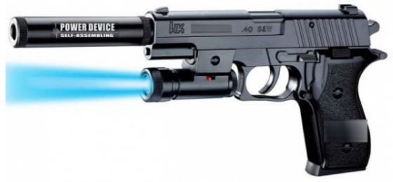 Пистолет Shantou Gepai P2118-B черный настольная игра shantou gepai аэрофутбол 5016