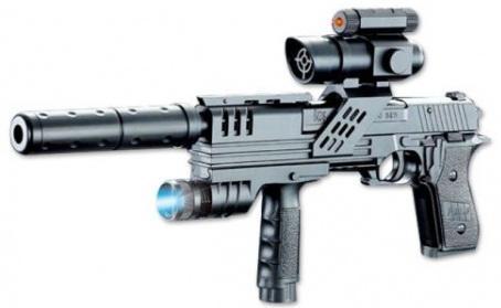 Пистолет Shantou Gepai P2118-A1 черный shantou gepai 17130