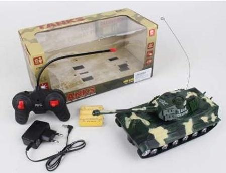 Танк на радиоуправлении Shantou B1690080 цвет в ассортименте от 6 лет пластик детский танк на радиоуправлении